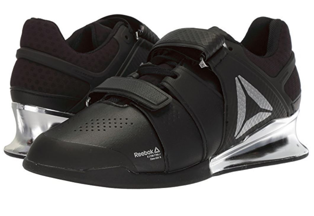 Manhattan palo Suave  Reebok Men's Legacy Lifter – Black/Silver – Berserkr Shoes